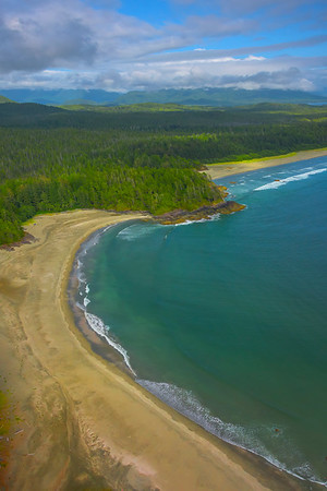 Crystal Blues Along The Pacific Rim Clayoquot Sound ,Tofino, and Ucluelet By Air,  Vancouver Island, BC, Canada