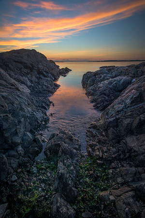 Inlet Cove Of Reflections - Uplands Park, Oak Bay, BC, Canada