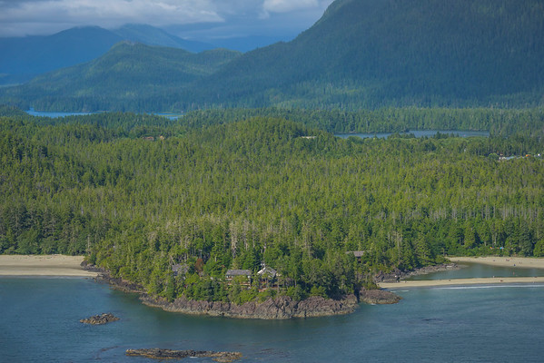 In The Middle Of Everything Tofino Clayoquot Sound ,Tofino, and Ucluelet By Air,  Vancouver Island, BC, Canada