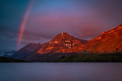 Waterton Lakes Sunrise