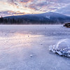 Ice Spiral Sunrise