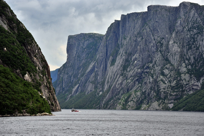 Western Brook Pond, Gros Morne National Park, Newfoundland. July 2010.