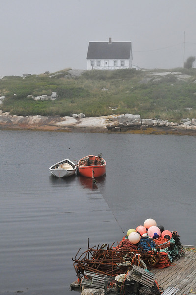 Peggy's Cove, July 2009.