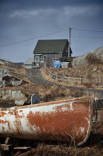 Peggys Cove, spring 2010