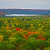 Look For Sunburst In Clouds - Algonquin Provincial Park, Nipissing, South Part, Ontario, Canada