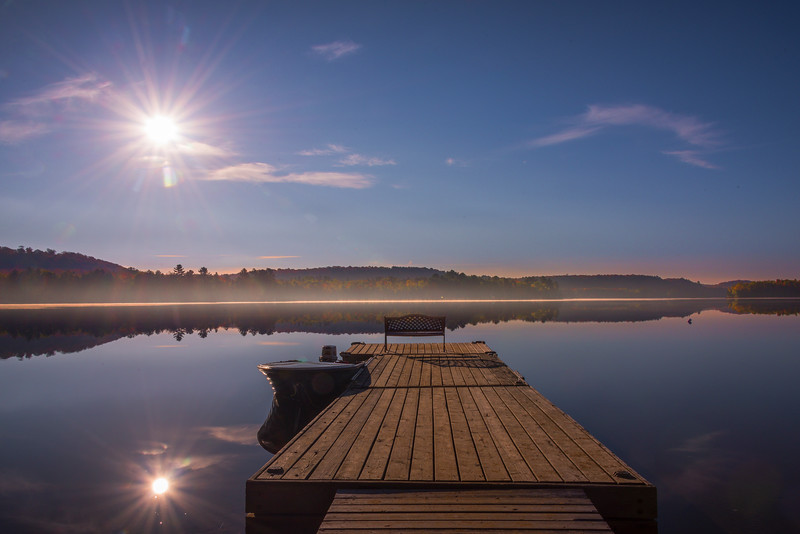 Having The Lake To Oneself - Algonquin Provincial Park, Nipissing, South Part, Ontario, Canada