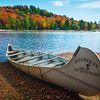 Autumn Escaping On Oxtongue Lake In Algonquin - Algonquin Provincial Park, Nipissing, South Part, Ontario, Canada