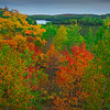 The View From Up In The Hills Of The Algonquin - Algonquin Provincial Park, Nipissing, South Part, Ontario, Canada