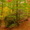 Split In The Rock - Algonquin Provincial Park, Nipissing, South Part, Ontario, Canada