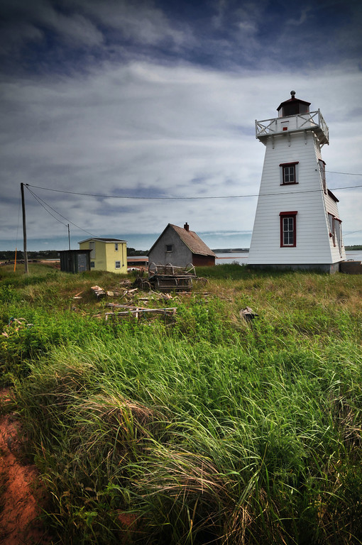 Lighthouse, North Rustico, PEI.