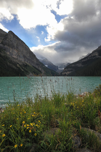 Lake Louise, Banff National Park, September 2012