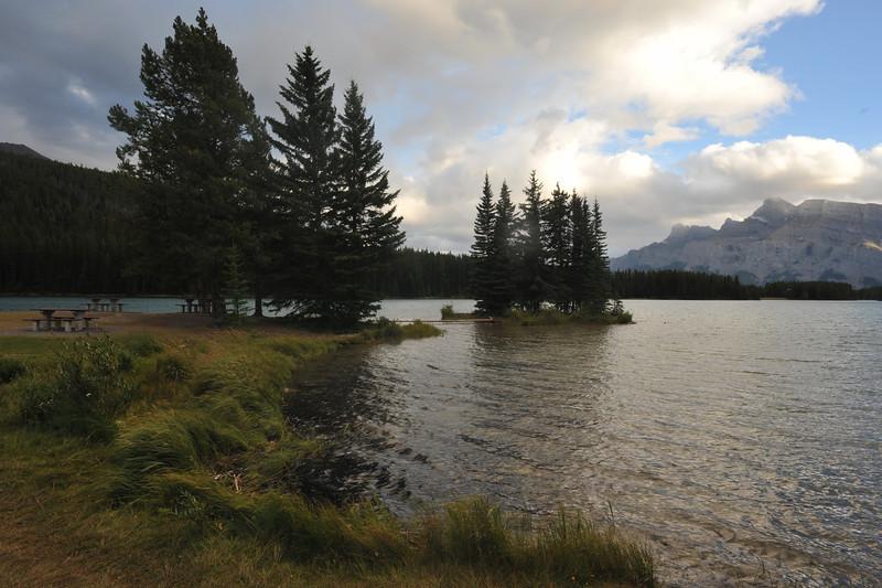 Two Jack Lake, Banff National Park, September 2012