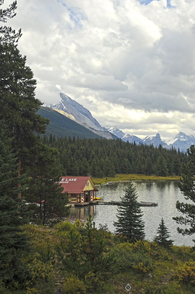 Maligne Lake, Jasper National Park, September 2012