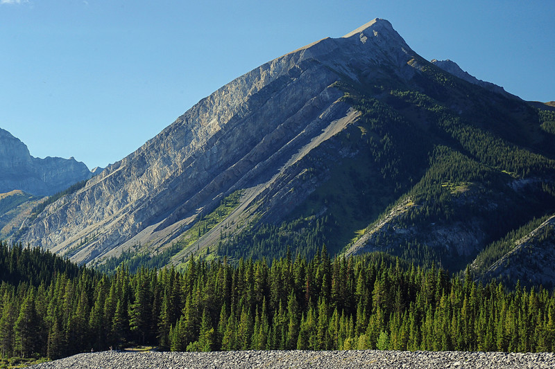 Mount Indefatigable, Banff National Park, September 2012