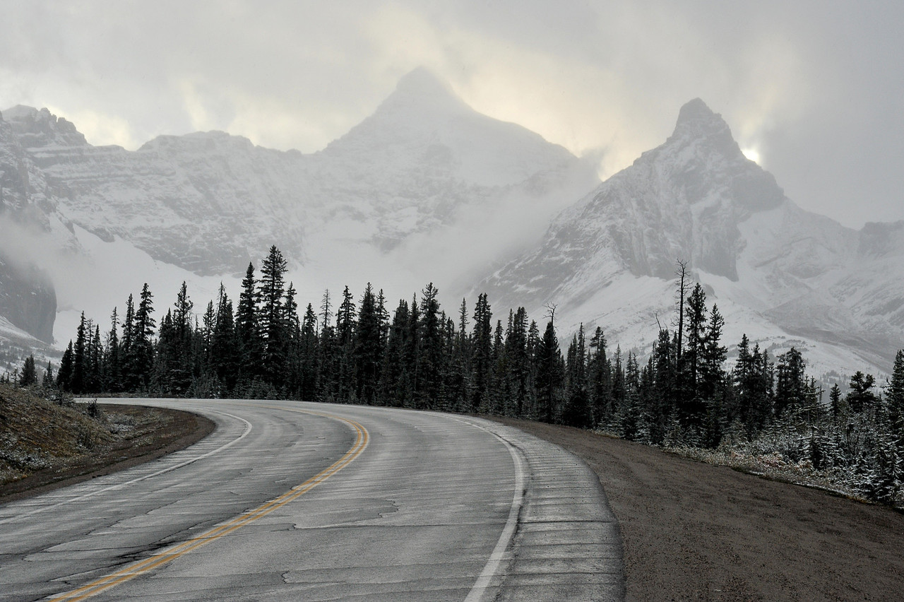 Icefields Parkway, September 2012.