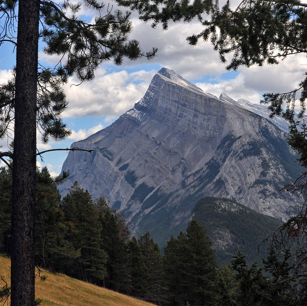 View from Norquay Drive, Banff National Park, September 2012