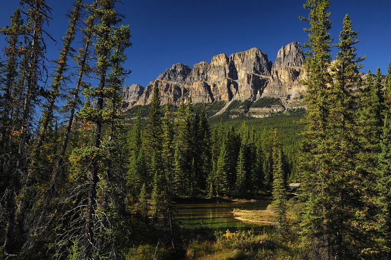 Castle Mountain, Banff National Park, September 2012