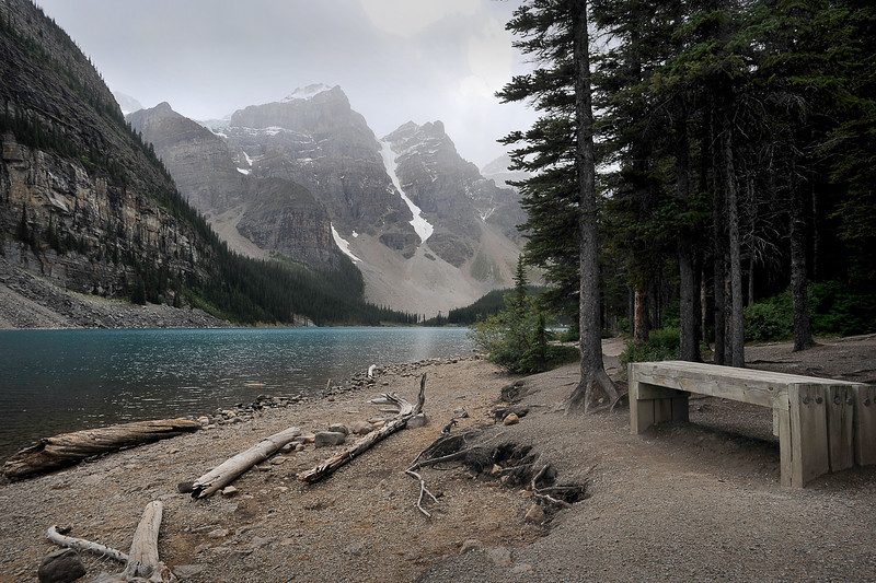 Moraine Lake, Banff National Park, September 2012
