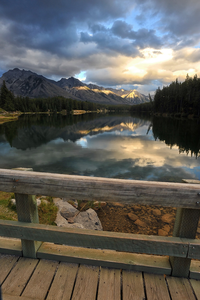 Johnson lake, Banff National Park, September 2012