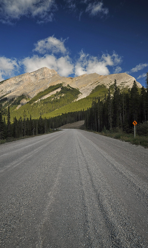 Spray Trail, Banff National Park, September 2012