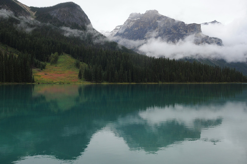 Emerald Lake, Yoho National Park, September 2012