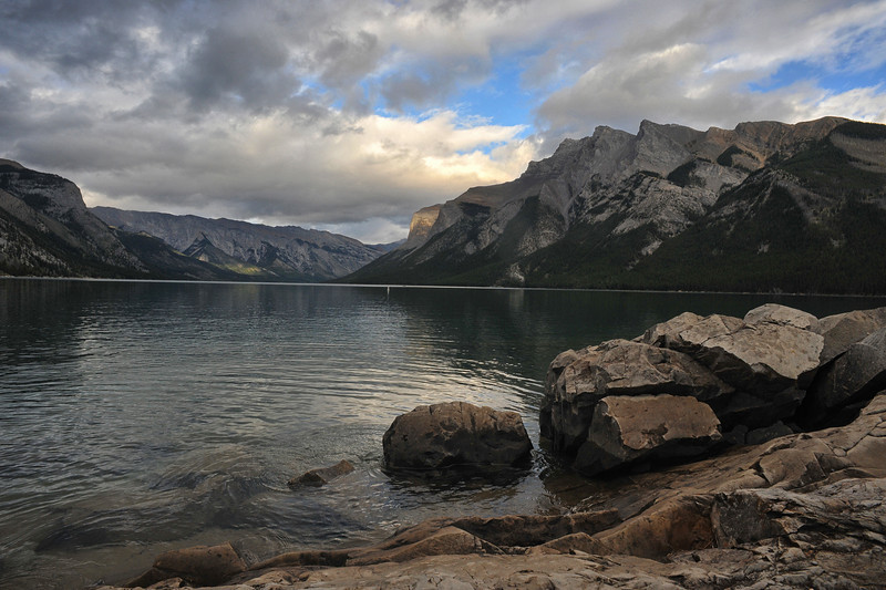Lake Minnewanka, Banff National Park, September 2012