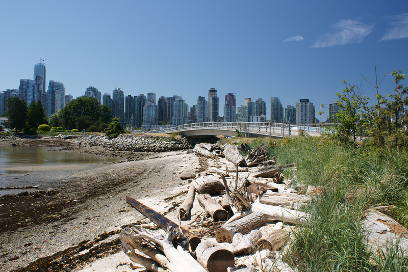 Bridge to Dead Man's Island Stanley Park Vancouver BC
