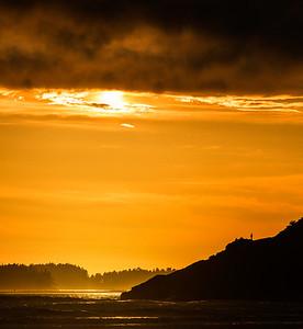 Sunset at Tofino 3