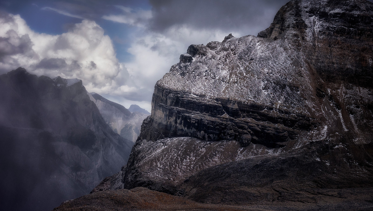 At the Edge of Marvel Peak