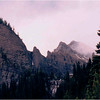 Canadian Rockies. Banff National Park. July, 1986.