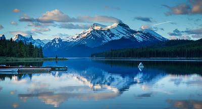 Maligne lake 2