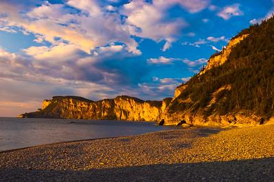 Sunrise at Cap Bon-Ami