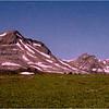 Canadian Rockies. Skyline Trail. Jasper National Park. July, 1986.