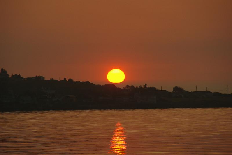 Sunrise in Victoria, Vancouver Island