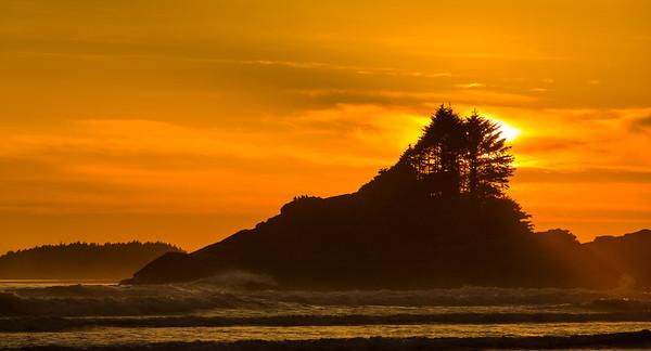 Sunset at Tofino 5