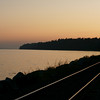 Railway sunset