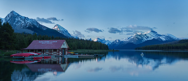 Boathouse dawn