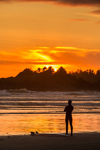 Sunset at Tofino 6