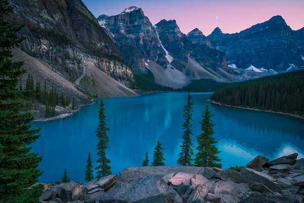Moraine Lake Twilight