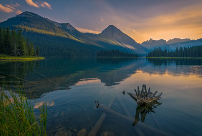 Marvel Lake Sunrise