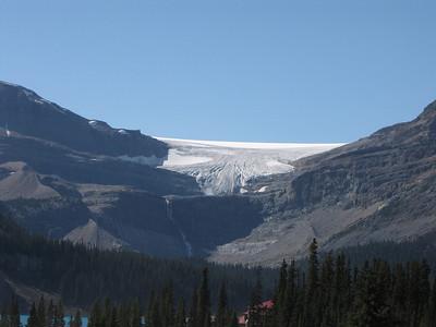 Bow Glacier in Banff National Park.