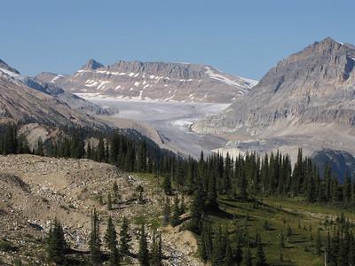 The Yoho Glacier.