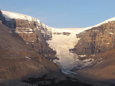 Dome Glacier and Columbia Icefield.