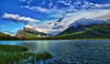 Canadian rockies, Banff National Park, Vermilion Lake, Landscape, HDR, 加拿大, 班夫国家公园 风景, 高动态范围拍摄
