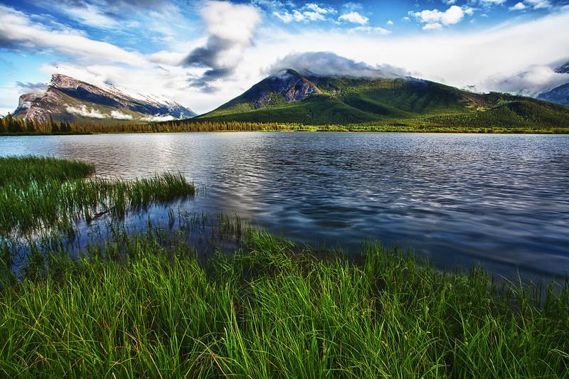 Canadian rockies, Banff National Park, Vermilion Lake, Landscape, HDR, 加拿大, 班夫国家公园 风景, 高动态范围拍摄
