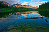 Canadian rockies, Banff National Park, Johnson Lake, Landscape, Reflection, 加拿大, 班夫国家公园 风景