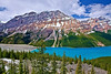 Canadian Rockies, Banff National Park, Peyto Lake, Landscape, 加拿大, 班夫国家公园 风景