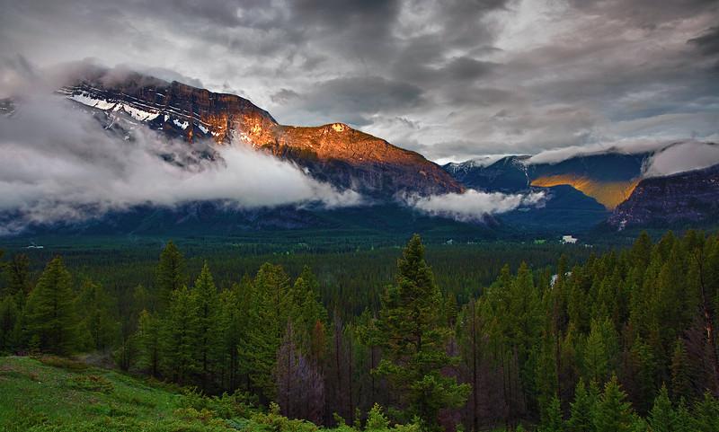 Canadian Rockies, Banff National Park,  Landscape, HDR,  加拿大, 班夫国家公园 风景, 高动态范围拍摄