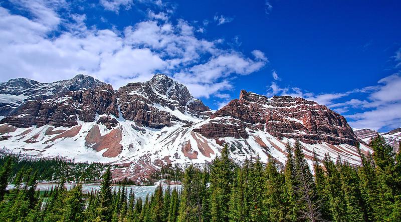 Canadian Rockies, Banff National Park, Peyto Lake, Landscape, 加拿大, 班夫国家公园 风景
