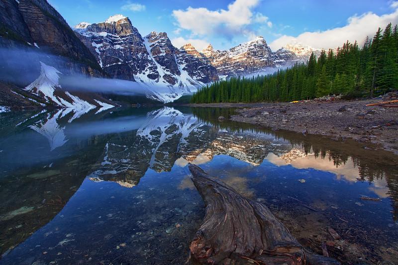 Canadian Rockies, Banff National Park, Moraine Lake, Landscape, HDR, 加拿大, 班夫国家公园 风景